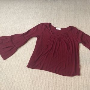 Juniors Hollister long sleeve shirt